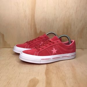 Converse Shoes - NEW Converse One Star OX Paradise Pink Suede